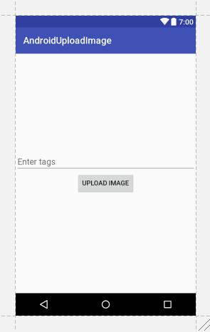 upload image to server interface
