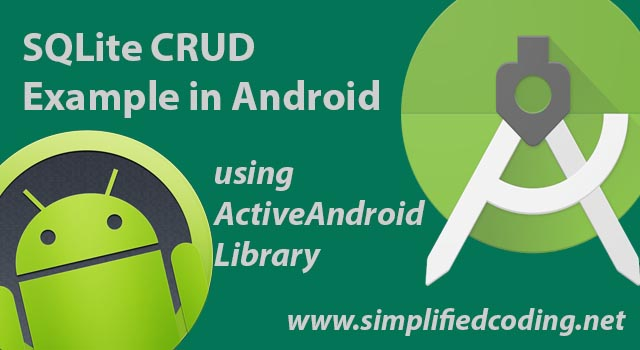 sqlite crud example in android