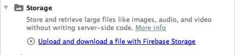 firebase file upload