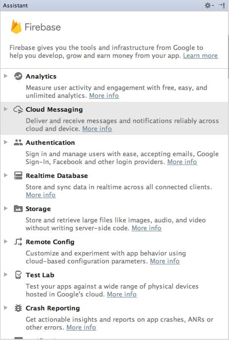 integrating firebase cloud messaging