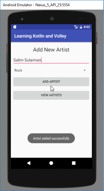 adding artist