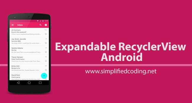android recyclerview tutorial kotlin