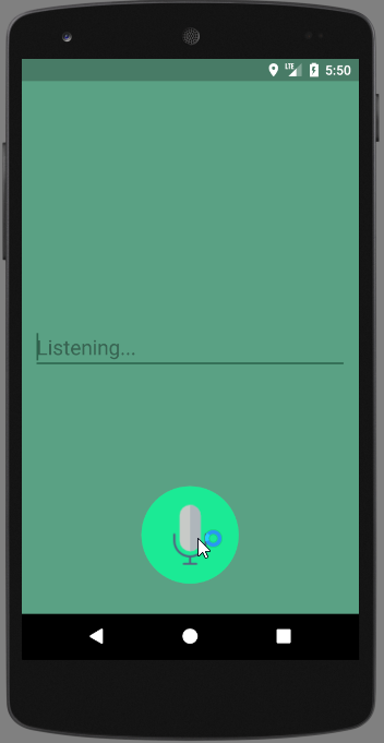 android speech to text