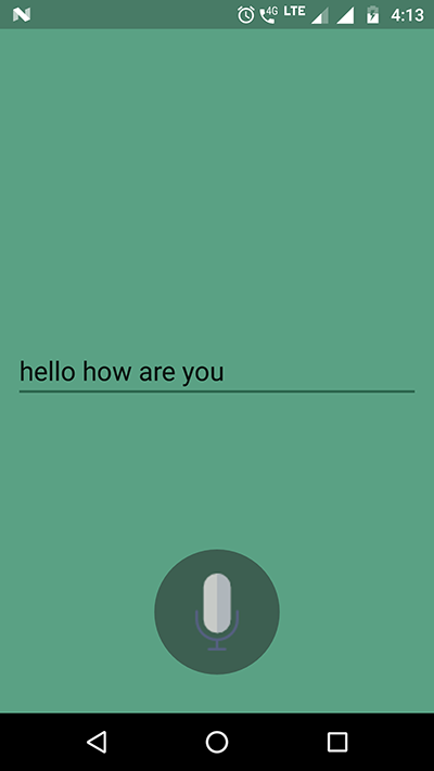 android text to speech app