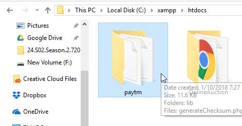 paytm php kit