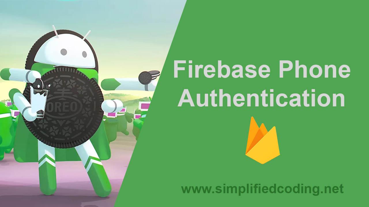 firebase phone authentication