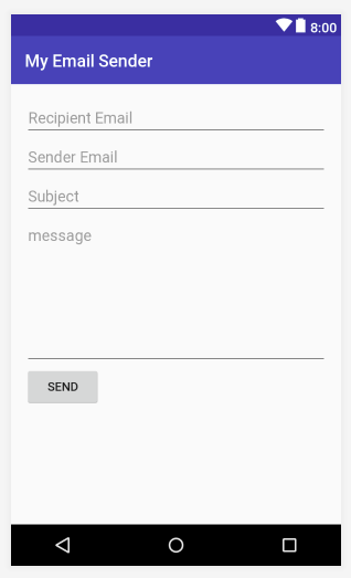 Mailgun Android Example