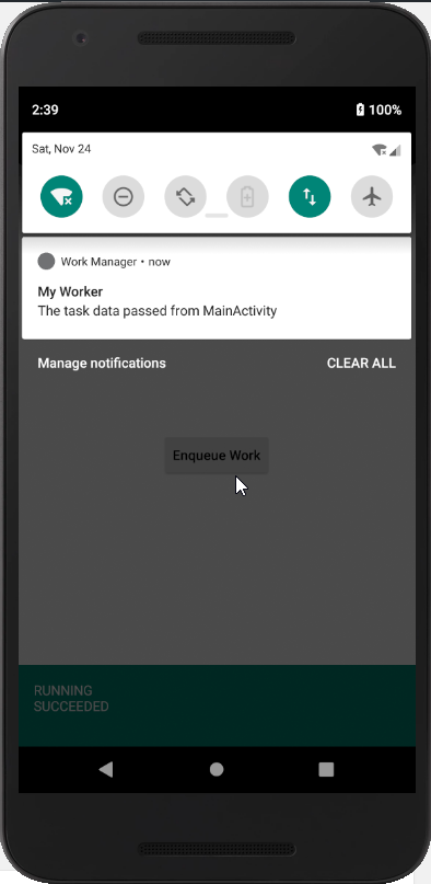 android workmanager tutorial
