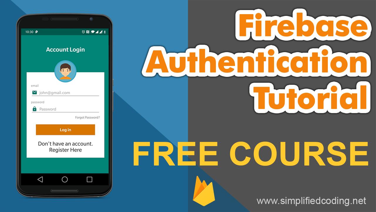firebase authentication tutorial