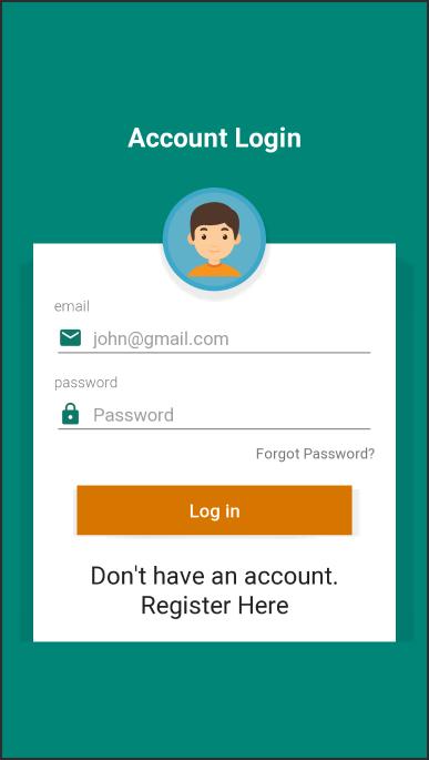Firebase Authentication MVVM
