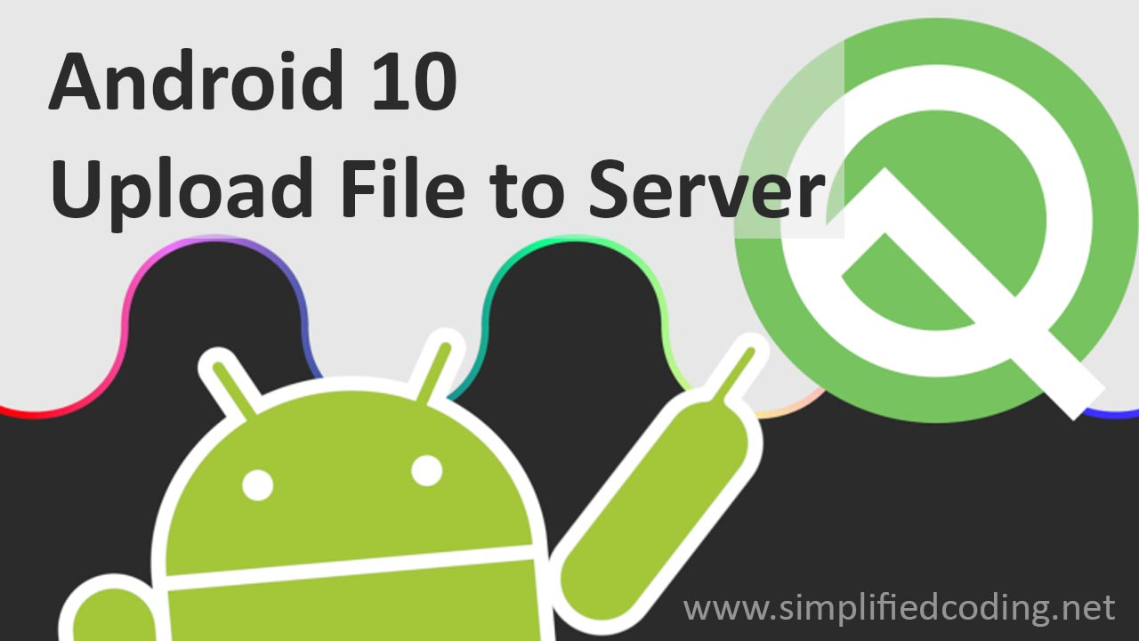 android upload file to server