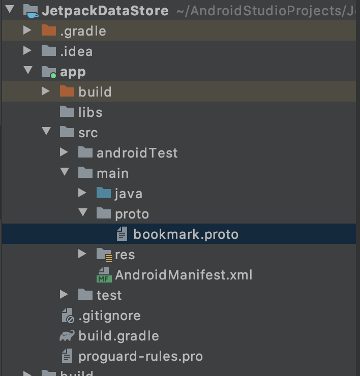 Android Jetpack DataStore
