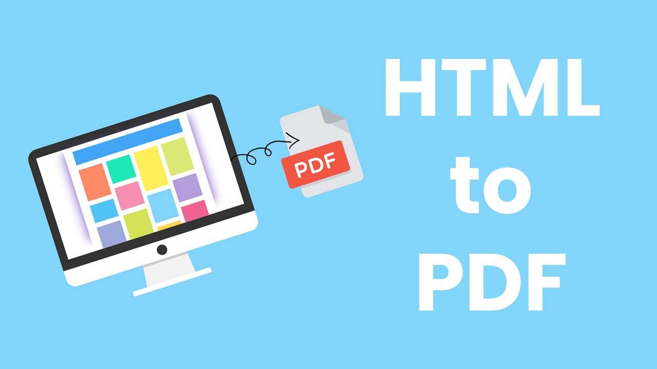 html to pdf javascript