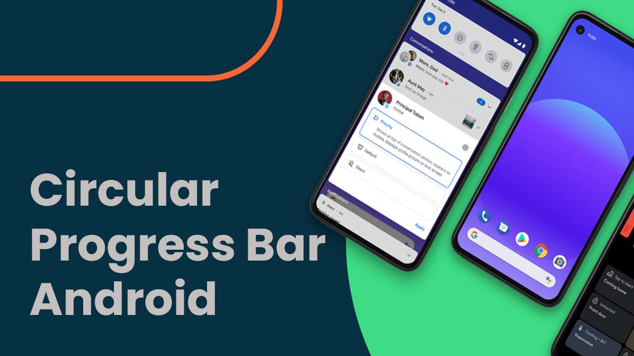 Circular Progress Bar Android Tutorial [4 Easy Steps]