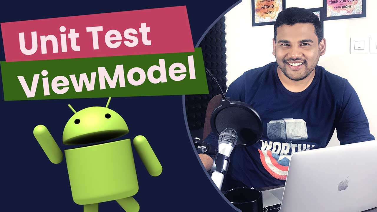 Android Unit Test ViewModel